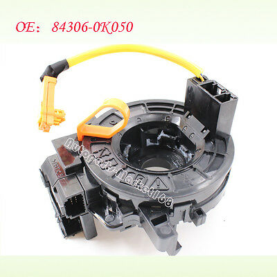 New Spiral Cable Clock Spring 84306-0K050 0K051 Fit For Toyota Hilux Vigo Innova