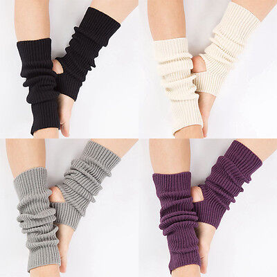 Women Casual Chosen Crochet Dance Pilates Yoga Leg Warmers Boot Cuffs Socks