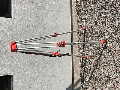 CST Berger Tripod and 8 foot Grade Rod for Laser Level or Survey equipment