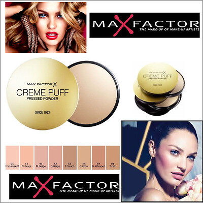Max Factor Creme Puff Compact Powder - All Shades