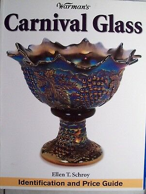 ANTIQUE CARNIVAL GLASS $$$ PRICE GUIDE BOOK Identification 5,000 LIST