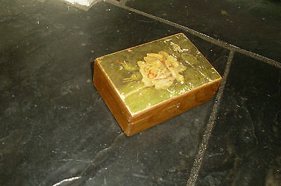 Collectable Small Vintage/antique Trinket/jewellery Wooden Box