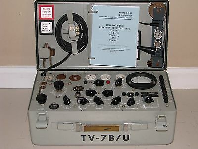 TV-7B/U Mutual Conductance Tube Tester - Calibrated