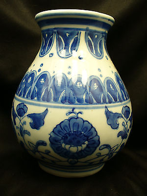 Vintage Chinese Blue and White Vase