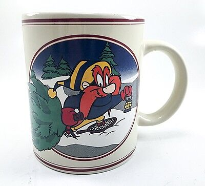Yosemite Sam Wintery Wonderland Coffee Mug Warner Bros 1993