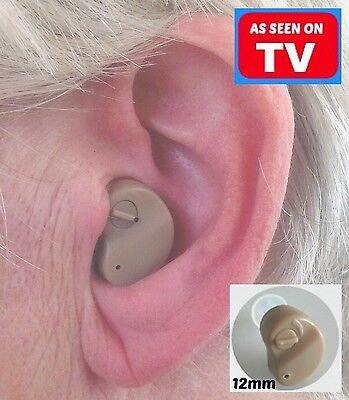 AS SEEN ON TV this Tiny Little Micro Mini Sound Amplifier Aid for better Hearing