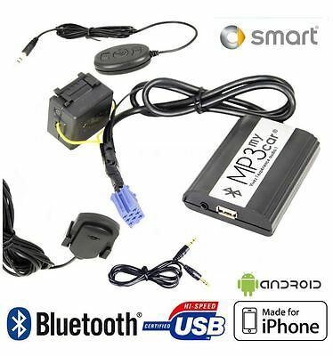 Boitier MP3 USB AUX Bluetooth Smart ForTwo, Smart ForFour