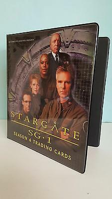Stargate SG1 Season 4 official binder/album from Rittenhouse Archives