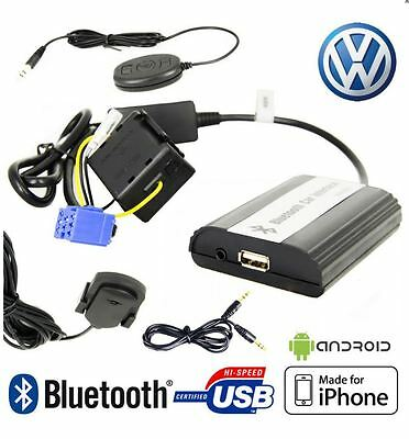 Boitier MP3 USB AUX Bluetooth VOLKSWAGEN Golf Polo Lupo Passat Bora T5 Sharan