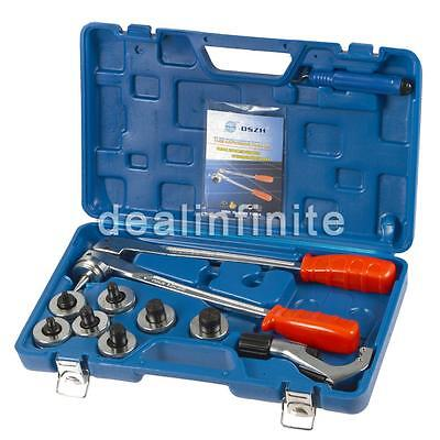 CT-100A Hydraulic Tube Expander 7 Lever Swaging Plumbing Kit HVAC Tools Tube Pip
