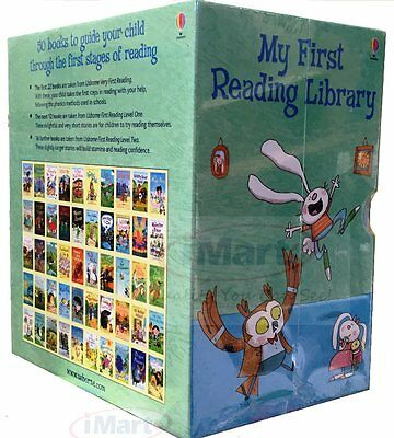 My First Reading Library 50 Books Set - Early Readers Learn To Read Easy Kid New
