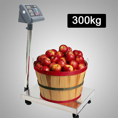 300kg Electronic Commercial Digital Computing Platform Weight Postal Scales