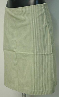 Gonna Romeo Gigli made in italy nuova tg 42 skirt verde a righe