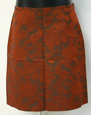 Gonna Romeo Gigli made in italy nuova tg 40 skirt rossa paisley