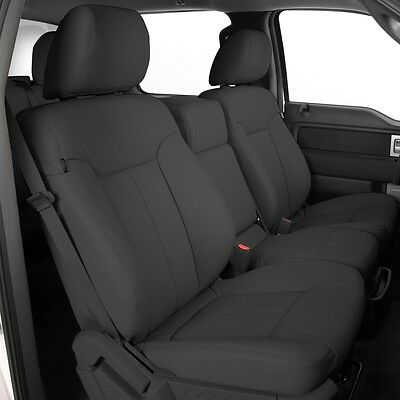 Magnificent 2013 2014 Ford F 150 Xlt Super Crew Cab Katzkin Leather Seat Gmtry Best Dining Table And Chair Ideas Images Gmtryco