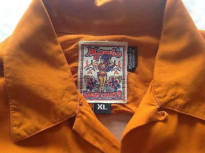 """80's Vintage Mambo shirt XL """"Day of the Dead"""""""