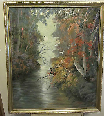 Original Australian Oil Painting - Framed - Signed By Artist