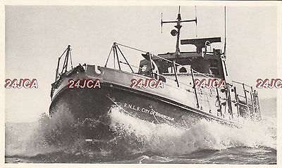"English Postcard. RNLB ""City of Birmingham"" Lifeboat. c 1960s"