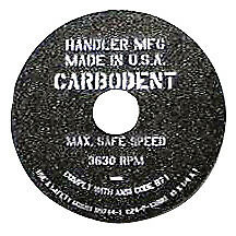 "Handler Trimmer Wheel 10"" Coarse"