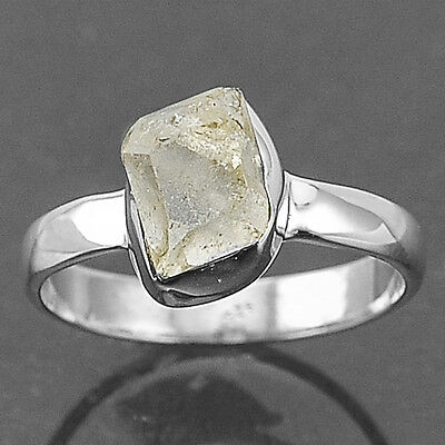 Herkimer Diamond 925 Sterling Silver Ring Jewelry s.7 SDR11300