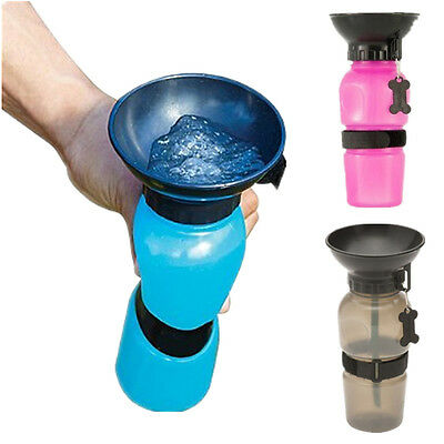 Portable Aqua Dog Travel Water Bowl Bottle Easy Carry Auto Dog Mug Water Bottle