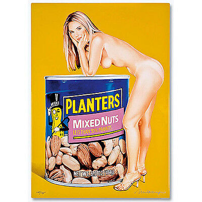 "MEL RAMOS - ""MIXED NUTS"" - Emaille - 2009"