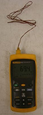 Fluke 54 II Dual Input Digital Thermometer 54II, please read