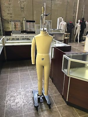 USED Professional Pro Children 8T Working Dress Form Mannequin #SIZE8T
