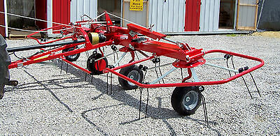 New Enrossi 17 ft.  Hydraulic Fold Hay Tedder---Can ship @ $1.85 Mile