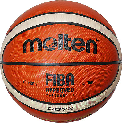 6x Molten Basketball BGG7X-X BGG6X-X Ball package FIBA without DBB Logo