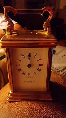 Vintage Taylor & Bligh England   Carriage Clock
