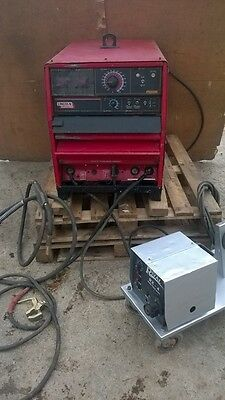 LINCOLN ELECTRIC -  DC - 655  -    850 AMP   - MIG  + STICK WELDER - 3 Phase