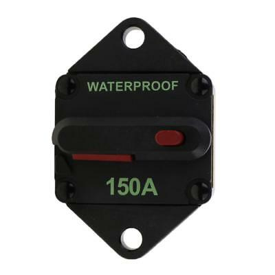 150A AMP Circuit Breaker Car Marine Stereo Audio Inline Replace Fuse 12-24V