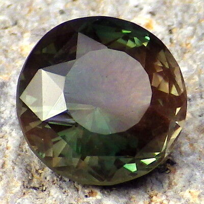 EMERALD GREEN-TEAL DICHROIC SCHILLER OREGON SUNSTONE 3.16Ct FLAWLESS-RARE!!