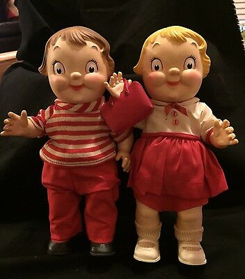 Campbell's Soup Kid's Chubby Dolls - Vintage