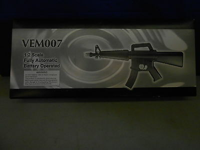 VEM007 Air Soft Gun 1:2 Scale Fully Automatic Battery Operated
