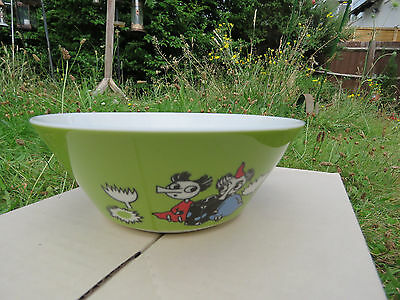 "Moomin Bowl ""Thingumy & Bob"" Cereal Bowl  New / Unused with Sticker"