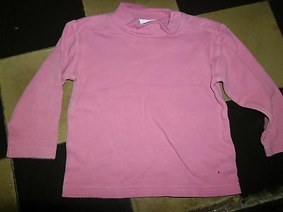 tee-shirt sous pull   fille taille 18 mois prémaman