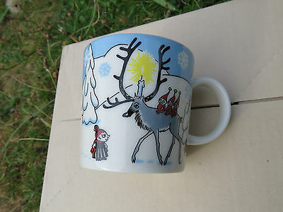"Moomin ""Winter Forest"" Mug  New / Unused  with Moomin Gift Box Limited Ed 2012"