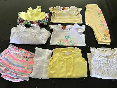 9 x PUMPKIN PATCH BABY GIRL SIZE 0 ALL VERY CUTE MUST SEE