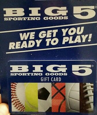 Big 5 Sporting Goods $50 gift card