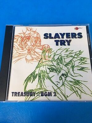 Slayers Try Treasury BGM 2 Japanese Anime CD BBC