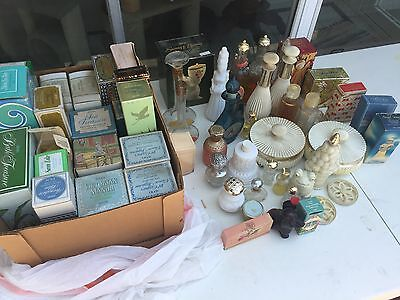 LOT No 7: AVON  HUGE COLLECTION 55 VINTAGE COLLECTIBLES