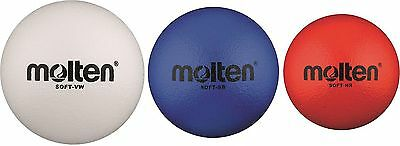 10 x Molten Soft-VW Soft-SB Soft-Hr Softball Children's ball School