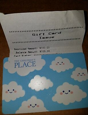 $100 Childrens Place Gift Card