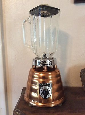 Vintage Oster Osterizer Deluxe Copper Beehive Blender 2 Speed