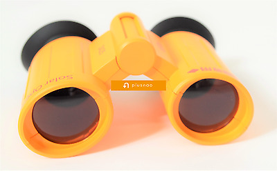 Solar Eclipse Glasses Binoculars 3X Orange NEXT USA TOTAL ECLIPSE 8/21/17!! F/S