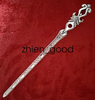 Chinese decorations Miao silver Handmade Exquisitefashion Hairpin OO