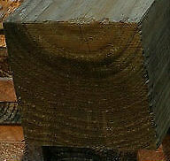 100x100 H4 Sawn Treated Pine Post 2.4