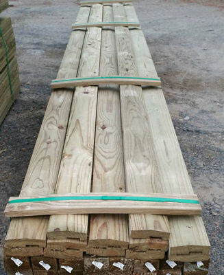 115x38 H3 Dar Pine Fence Capping 4.8